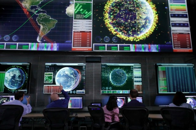 A look at the Space Fence control center as the U.S. Air Force awarded the contract for its Space Fence program to Lockheed Martin June 2.
