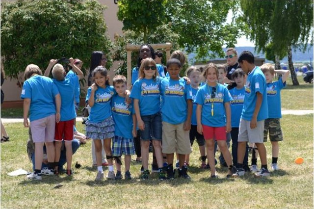 One hundred and fifteen children participated during Vacation Bible School June 23 through 27 at Storck Barracks.