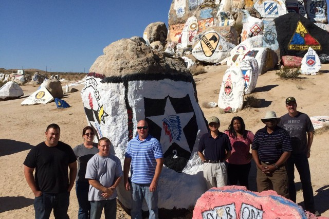 Eight CBRNE Analytical and Remediation Activity scientists deployed to Fort Irwin, Calif., for Exercise Atropian Phoenix.