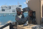 Harbormaster troops demonstrate expeditionary capability during RIMPAC 2014