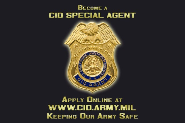 CID Special Agents are sworn federal officers, responsible for investigating felony-level crime where there is an Army nexus. Agents in the field routinely conduct protective-service operations for the Department of Defense senior leadership, counter-narcotic operations, develop criminal intelligence, and work with other federal, state, and local law enforcement agencies worldwide to solve serious crime.
