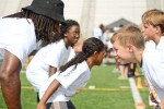 Cortez Allen Football ProCamp at Fort Campbell