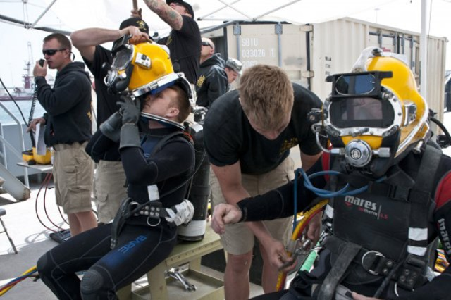 TACOM staff plays supporting role for Army divers