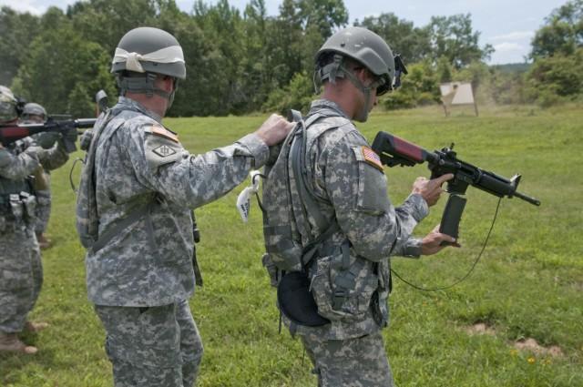 Developing Soldiers, teamwork through training