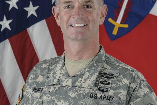 Maj. Gen. Walter E. Piatt assumed duties as the Deputy Commanding General, U.S. Army Europe, and Commander, U.S. Army NATO, July 23, 2014