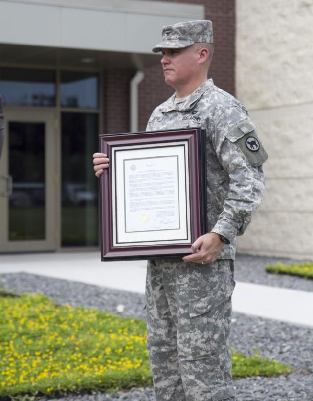 Col. Glenn Sanders, 81st RSC L.L.