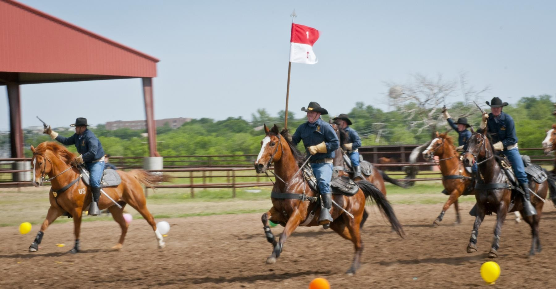 1st cavalry division horse cavalry detachment photo release 2