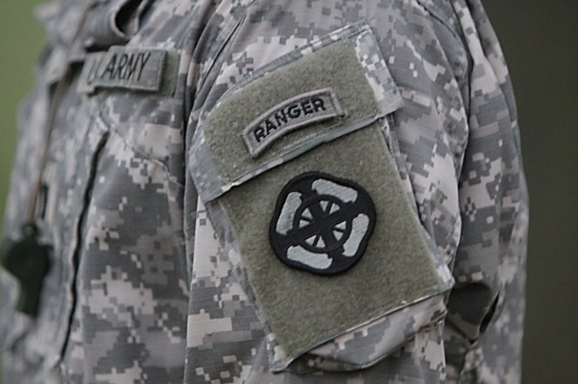 Ranger-qualified Soldiers whittle down the number of second lieutenants in the pre-Ranger course throughout the first week of training. Thirty-eight Soldiers signed up for the course, 29 showed up for Day 1; 26 on Day 2; and 24 on Day 3. It's all to earn the prestigious Ranger Tab, pictured above.