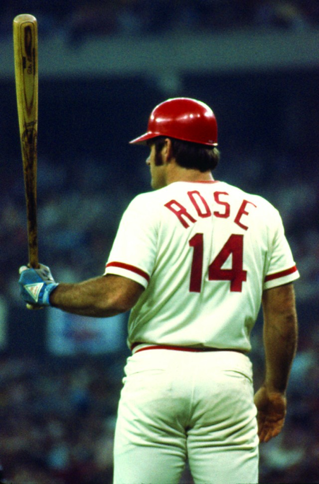 Rose at bat