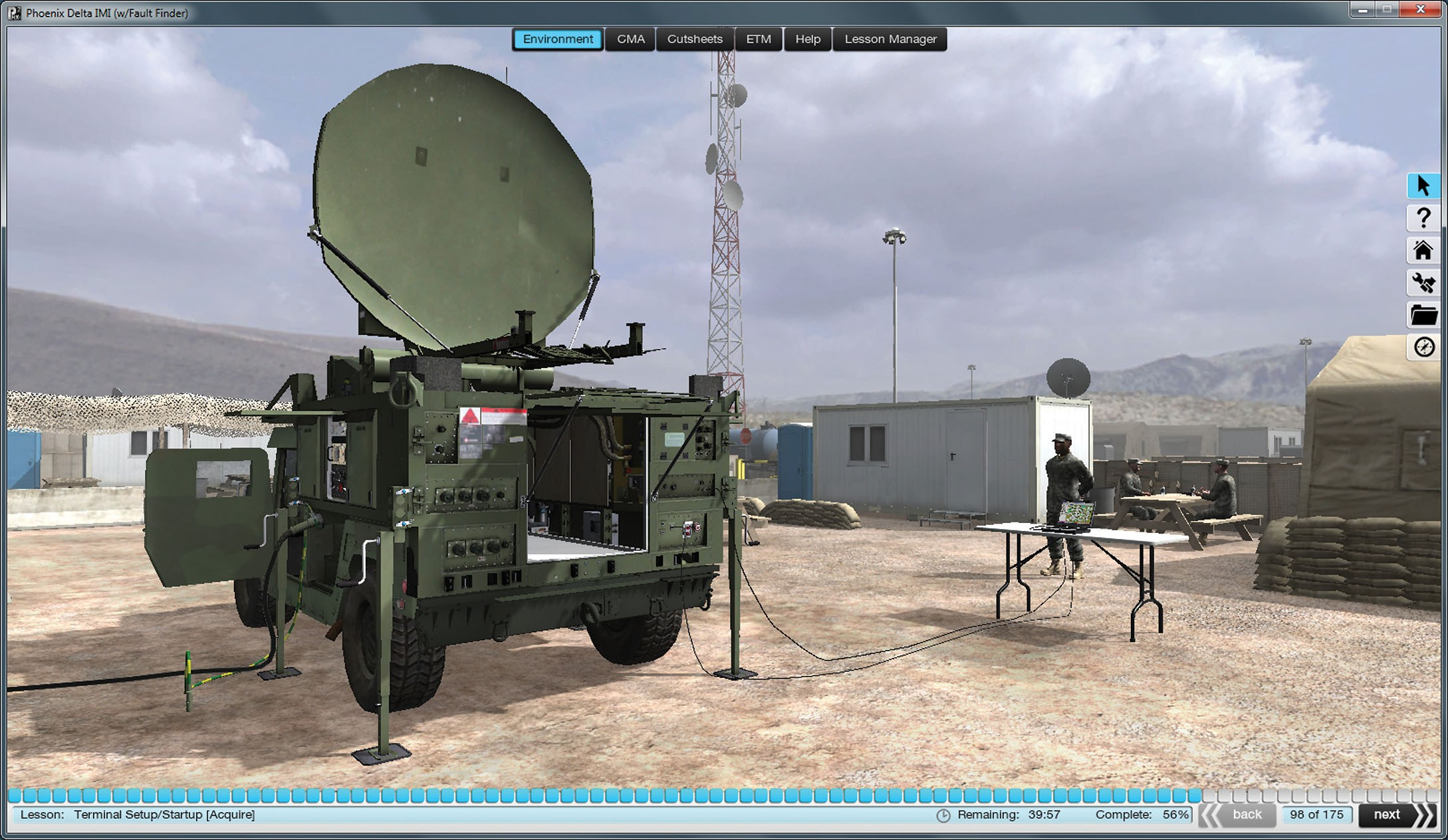 Training On The Virtual Net Article The United States Army