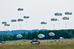 Spartan paratroopers jump back into training