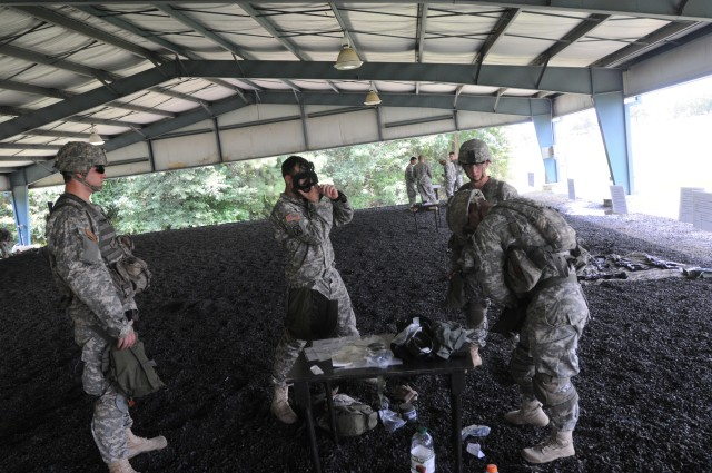 Wild Boars Prepare for Expert Infantryman Badge Course