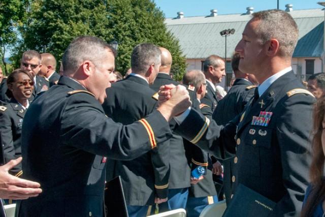 Army War College graduates celebrate