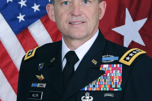 Gen. Danield B. Allyn has been confirmed as the Army's vice chief of staff.