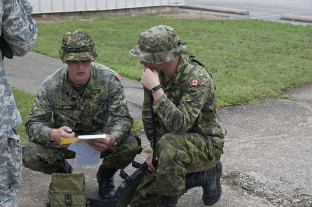 Our Northern cousins: US, Canadian Reserve engineers train together