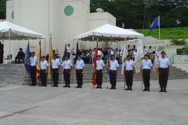 Change of command and memorial ceremonies are among various community events the YCA cadets support.