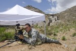 Rapid Equipping Force, PEO Soldier test targeting device at White Sands Missile Range