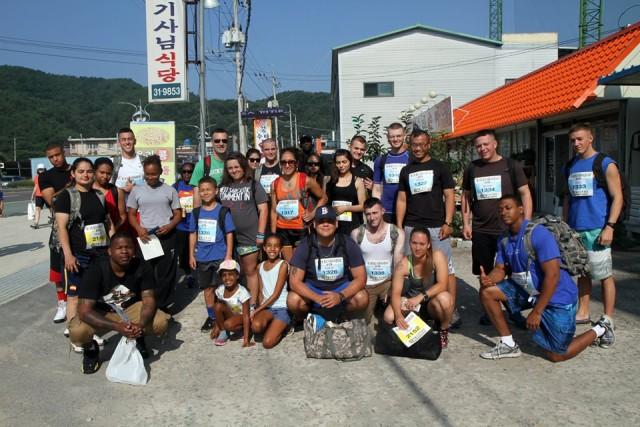 19th ESC and Area IV members compete in Hwang River Aquatic Marathon