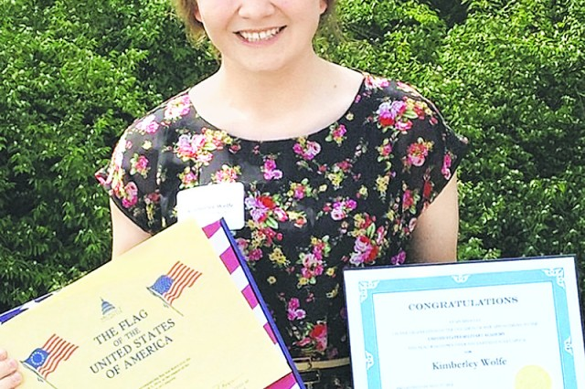 Kimberly Wolfe is one of several Waynesville High School graduates who have went on to a United States military academy.