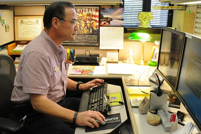 Day in the Life: ACS employee a man of many hats