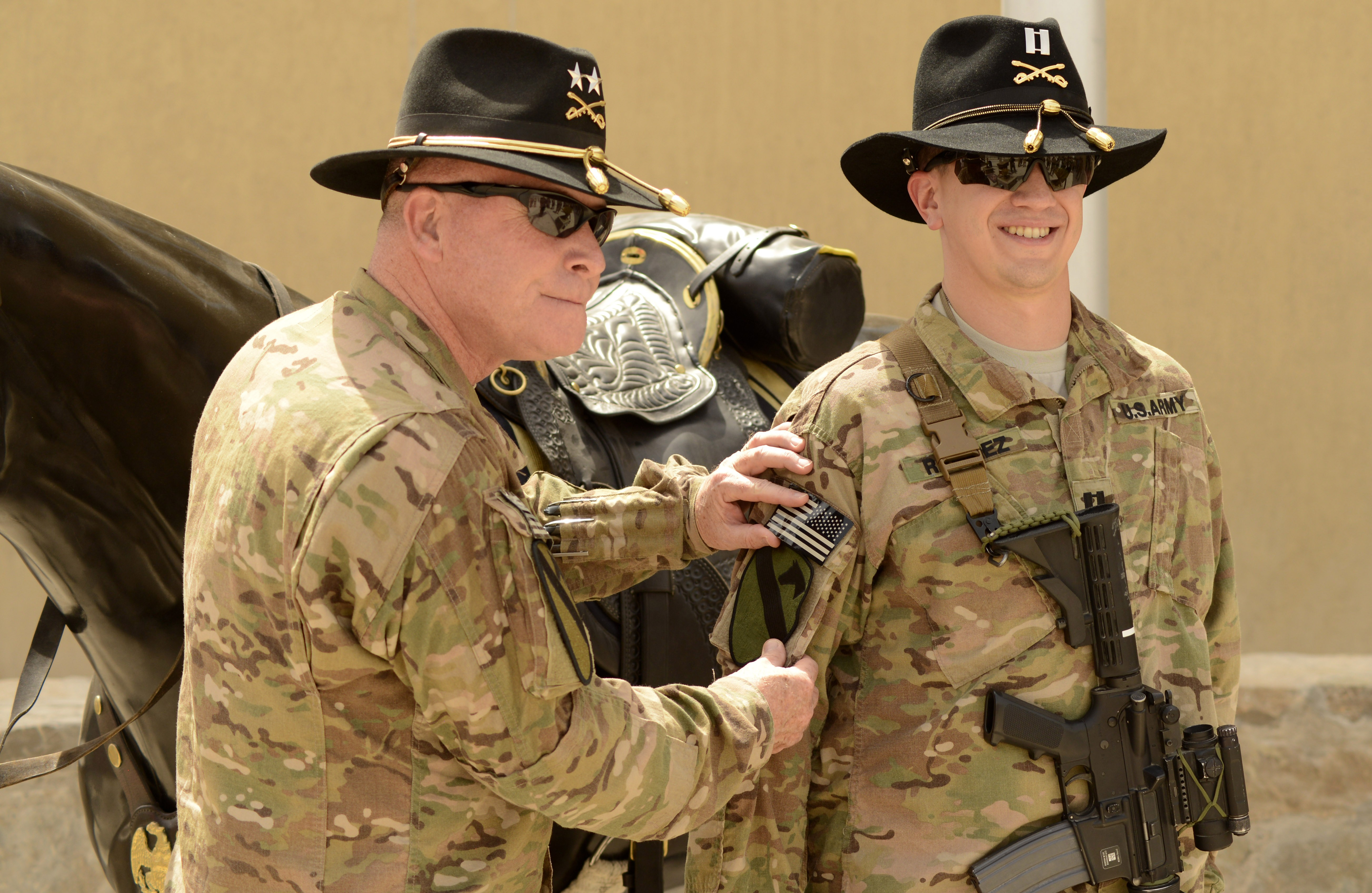 Cav team gets  Branded  in Kandahar  05858d40eb8