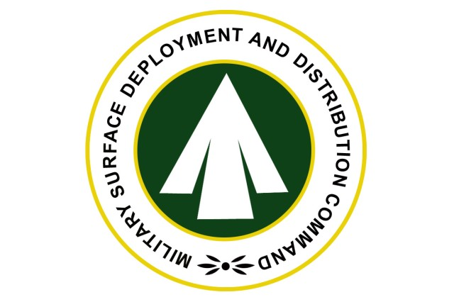 Military Surface Deployment and Distribution Command seal