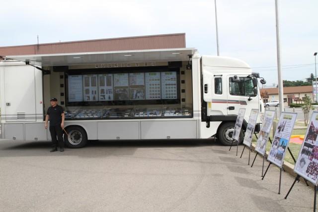 N. Korean special operation forces infiltration van showcased for 19th ESC senior leader development