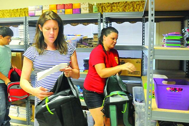 Back To School Brigade Operation Homefront Volunteers Fill
