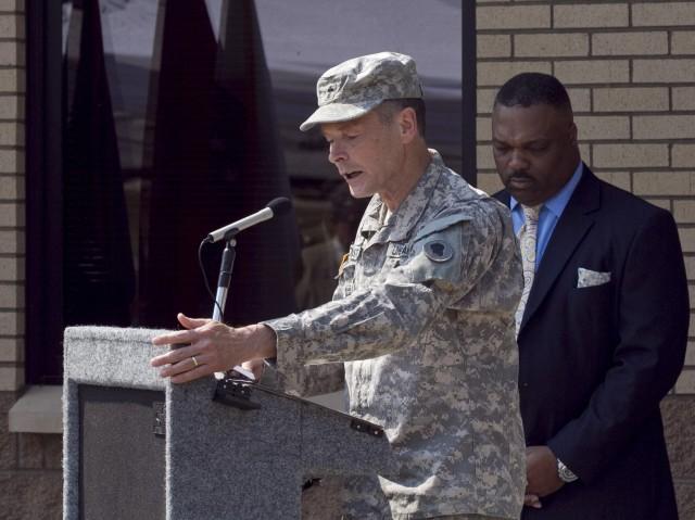 Chaplain (Lt. Col.) Greg Distad