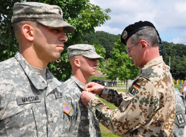New York Army National Guard Soldier earn German Military Badge