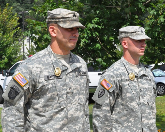 New York Army National Guard Soldiers earn German Military Badge