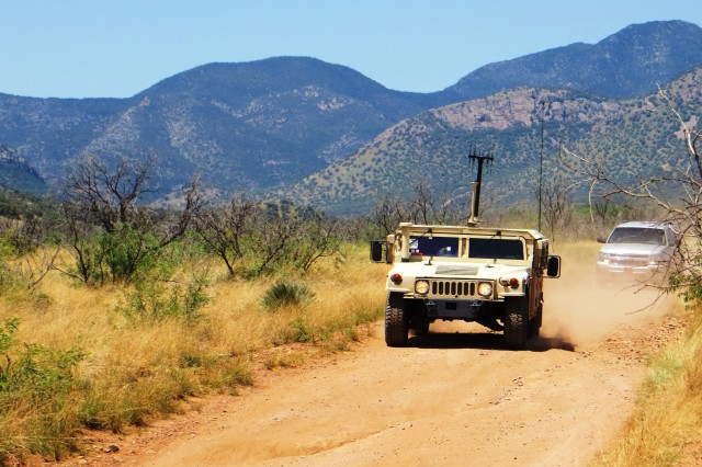 The Tactical-intelligence Ground Station, as part of the Distributed Common Ground System -- Army program, demonstrated during Enterprise Challenge 2014 at Fort Huachuca July 16 -- 30, allows a vehicle or convoy commander to conduct command and security responsibilities while maintaining intelligence situational awareness on the move.