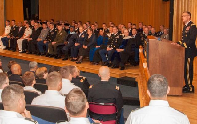 U.S. Army War College Convocation
