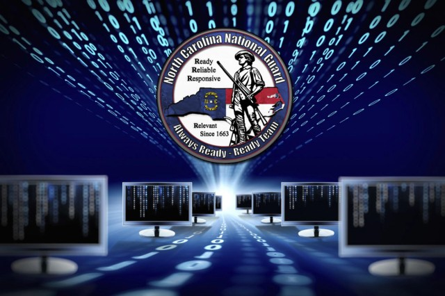 The North Carolina National Guard is 'Always Ready' against any threat including cyber attacks. These attacks can expose sensitive personal and business information and disrupt essential operations.  Soldiers, Airmen and staff stand poised, ready and capable to support the National Guard Bureau's intent to stand up multiple Cyber Protection Teams in support of U.S. Cyber Command.