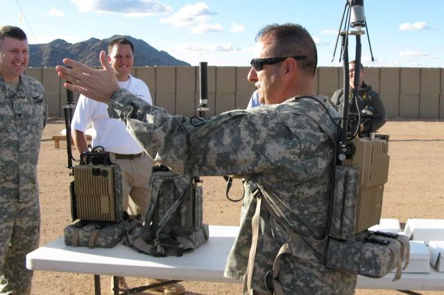 Then-Brig. Gen. Harold J. Greene at Yuma Proving Ground, Ariz., in 2012.