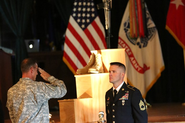 A memorial ceremony for Maj. Gen. Harold J. Greene was held Aug. 11, 2014, at Aberdeen Proving Ground, Md.