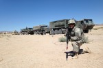 189th IN trainers work with Calif. Guard Transportation Unit at NTC