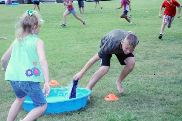 Camp Zama youth member experience 'Rainforest' adventures during Vacation Bible School