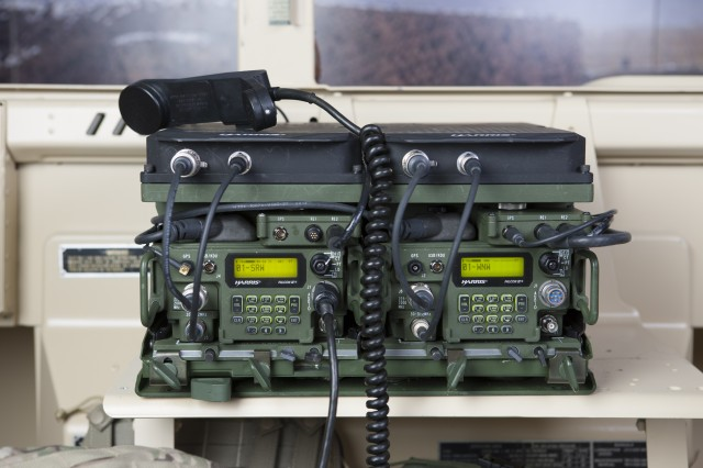 The Mid-tier Networking Vehicular Radios (MNVR) uses the Soldier Radio Waveform (SRW) and the Wideband Networking Waveform (WNW) to exchange voice messages, images and video. The radio, which will be integrated into Army tactical vehicles, also interoperates with the single-channel Rifleman and dual-channel Manpack radios.