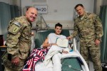 4th Infantry Division NCO, wounded warrior named USO 'Soldier of the Year'