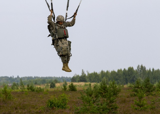 Paratroopers: Never tired of jumping from planes