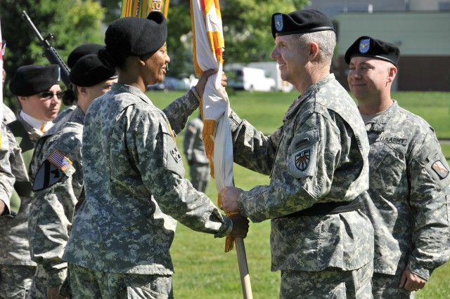 21st Signal Brigade Change of Command