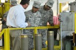 AMC leader praises ammo plant's capabilities, support to DOD