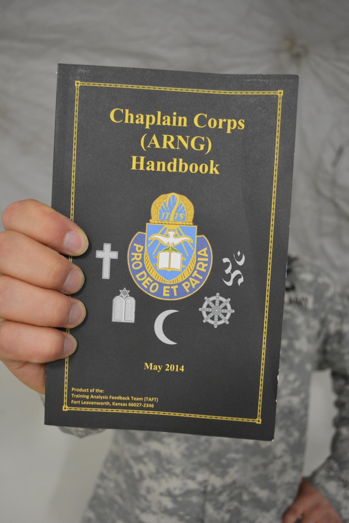 national guard creates new chaplain corps handbook article the