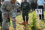 U.S. Army Pacific commanding general planst a miracle tree