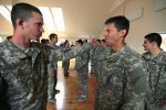 'Sky Soldiers' and 'Iron Wolves' certify on Combatives