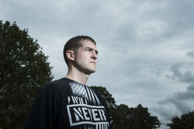 Despite facing his own fight against terminal colon cancer, Capt. Justin Fitch of the Natick Soldier Research, Development and Engineering Center, Mass., has refused to stop working to reduce the number of suicides among veterans.