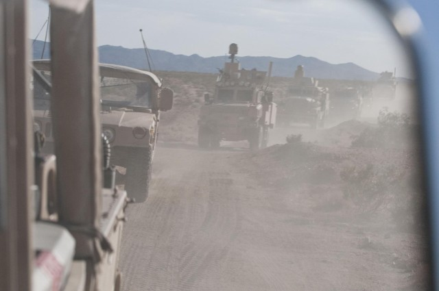 441st volunteers for training in Afghanistan-type environment