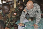 Security enterprise builds partnership with Liberian Army