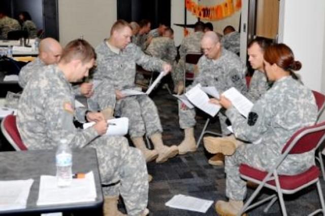 Military sexual harassment scenarios